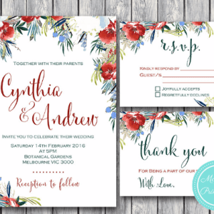 Wild-Red-Floral-Wedding-Invitation-Set-RSVP-Thank-You