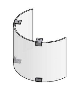 Lexan Shield 180°