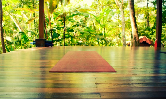Sea and Forest yoga mat, Trindade