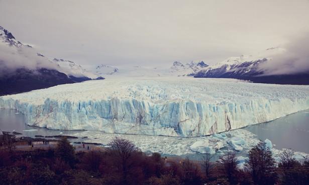 The great Perito Moreno glacier