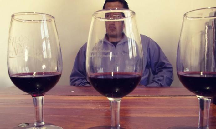 Salvador Figueroa in Cafayate wine town
