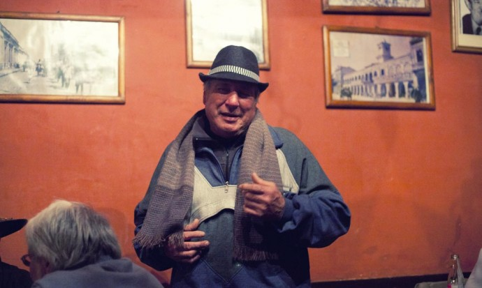 Storyteller at the Casona del Molino, salta