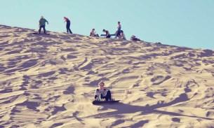 When fears become fun: sandboarding in San Pedro de Atacama