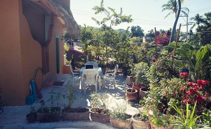 Garden San pancho Mexcio apartment