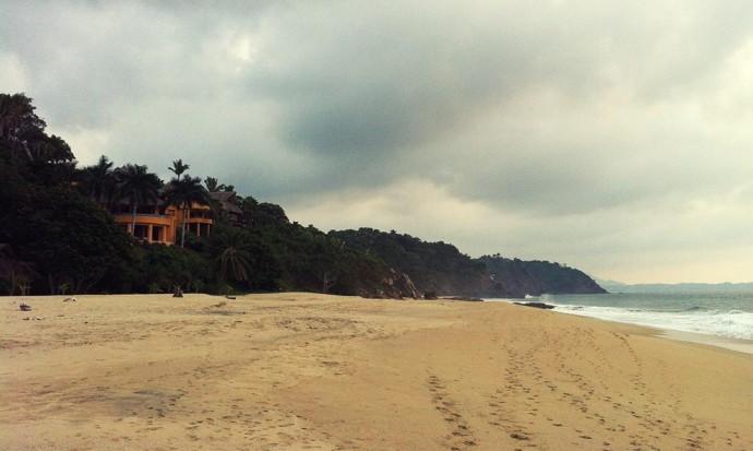 San Pancho beach