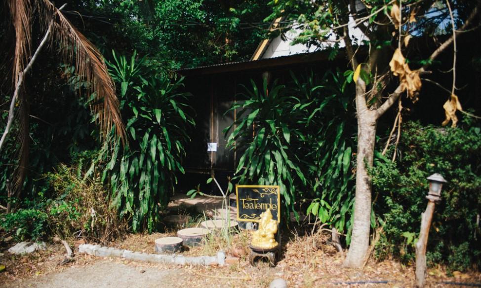Tea Temple healing centre Koh Phangan