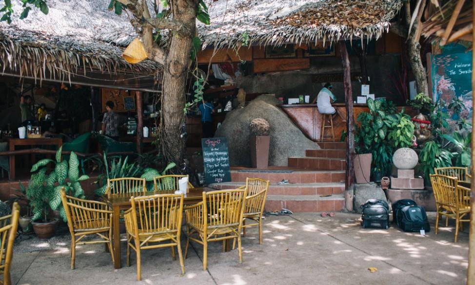 Restaurant at the Sanctuary Koh Phangan