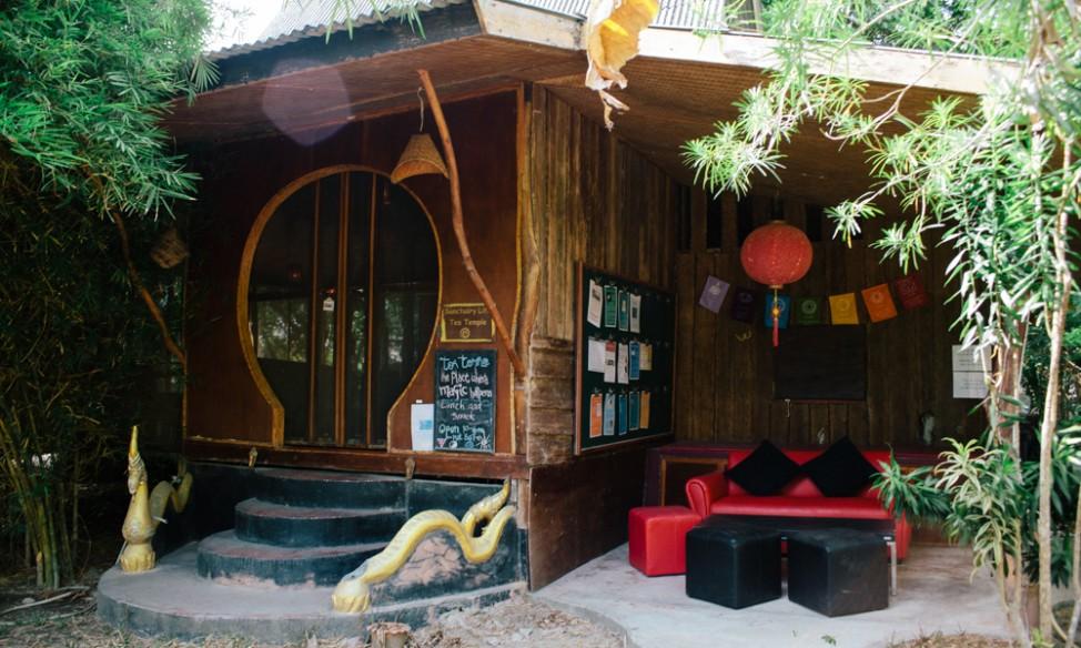 Tea Temple at The sanctuary Thailand