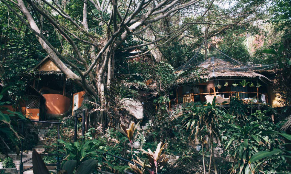 Spa building Sanctuary Koh Phangan