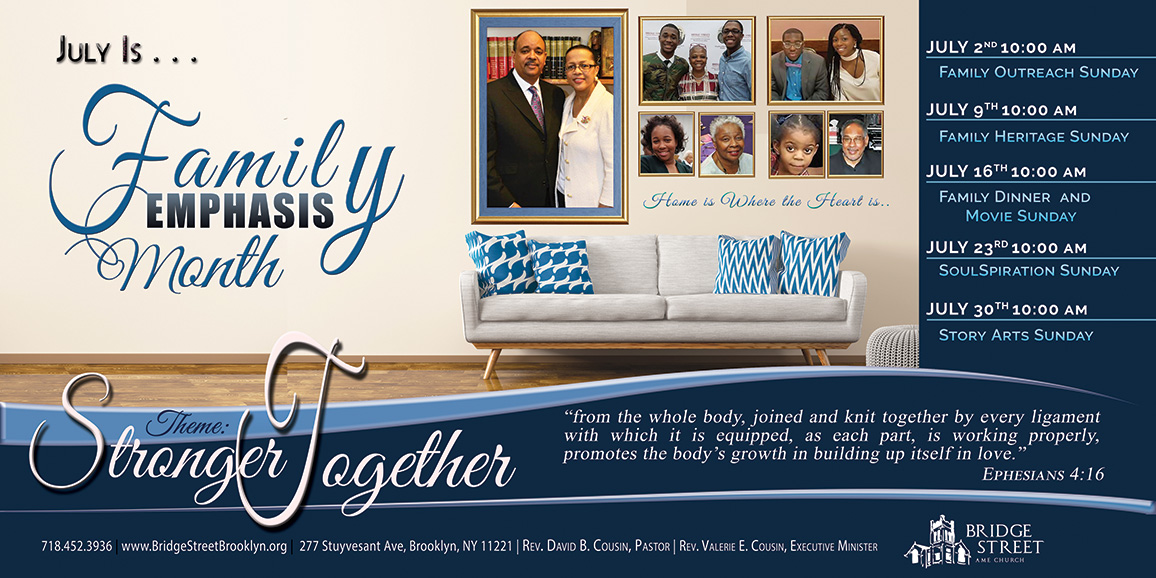 Family Emphasis Month 2017 Web Banner