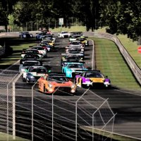 iRacing just ran an official VLN race, and here it is!