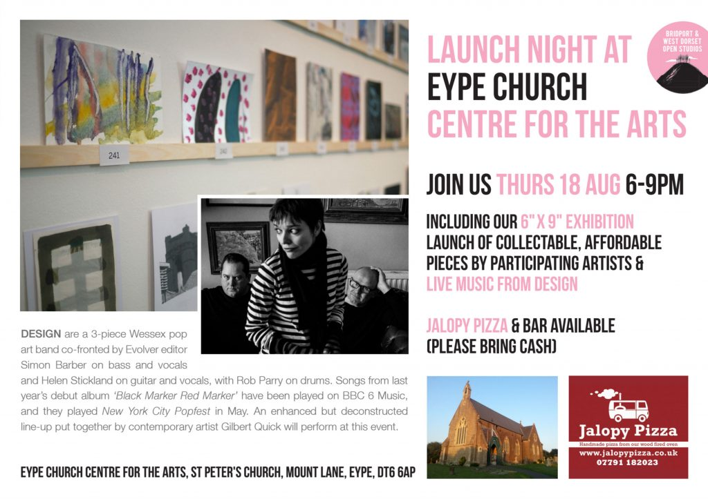 Launch Night and 6″ by 9″ exhibition Preview!