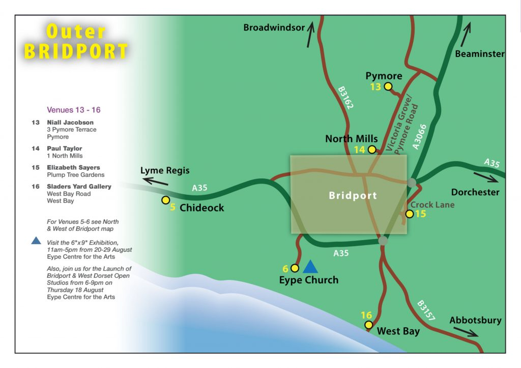 Map 4: Outer Bridport Map