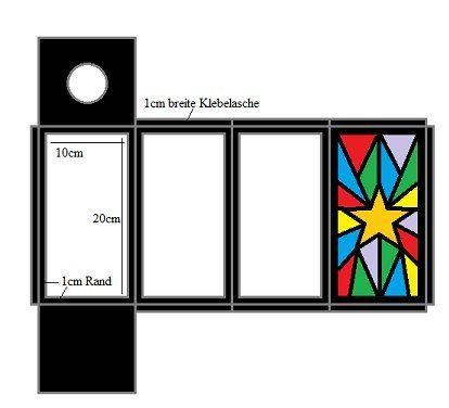 bastelanleitung f r eine papierlaterne. Black Bedroom Furniture Sets. Home Design Ideas