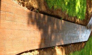 """""""Wood"""" walkway"""