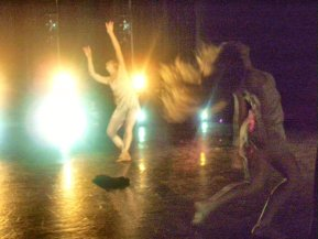 """""""What is Meant"""" on stage Danced by Brigette Cormier and Juliana Triviño"""