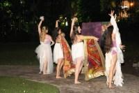 dancers kim ross, danielle kipnis, amanda edwards, brigette cormierphoto by Henry Perezcostume sponsor: JoJo Vela Productions