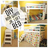 DIY Ana White Jr. Loft Bed