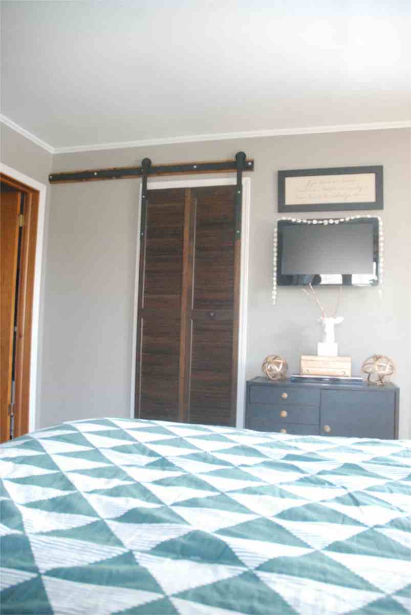 DIY Affordable Barn Door Hardware