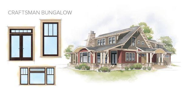 Craftsman Home Windows