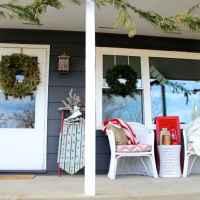 Vintage Modern Christmas Porch Tour