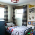 Vintage Modern Boys Bedroom