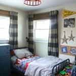 Vintage Modern Boys Bedroom