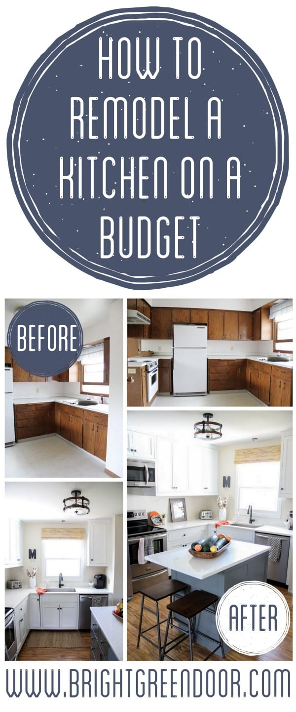 remodel a kitchen on a budget kitchen remodel budget Kitchen Remodel on a Budget