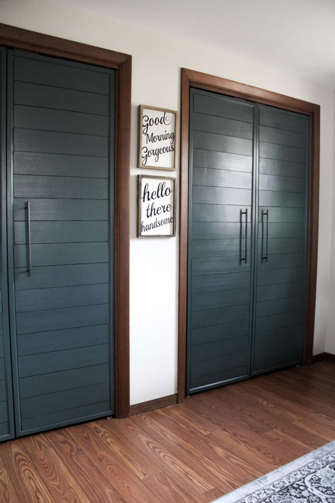 Modern French Closet Doors