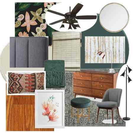 Modern Master Bedroom Mood Board