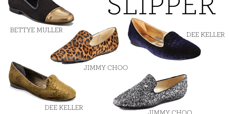 smoking slipper trend
