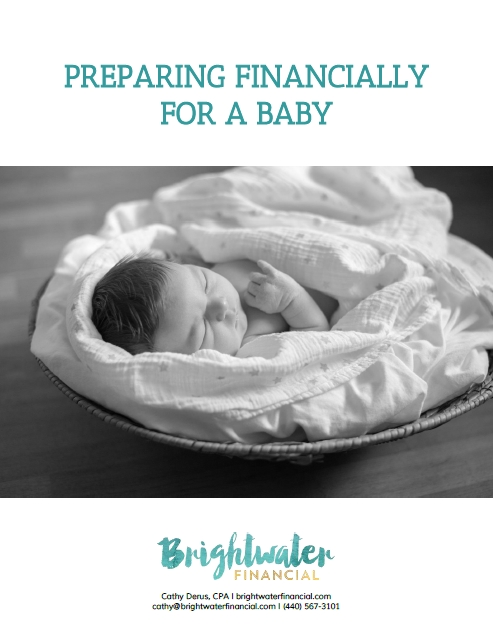 Preparing financially for a baby cover
