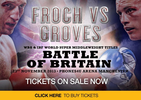 froch groves tickets