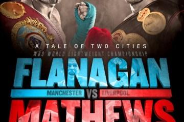 Terry Flanagan - Lightweight world champion defends title against Derry Mathews
