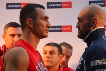 klitschko v fury weigh in