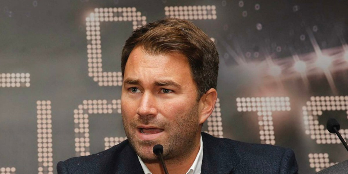 eddie hearn matchroom boxing