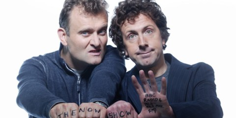 Hugh Dennis and Steve Punt star in the long running bbd radio series the now show on bbc radio 4