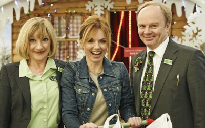 Geri Halliwell makes a guest appearence in sky TV's sitcom Trollied