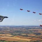 RAF Vulcan bomber last flight 1