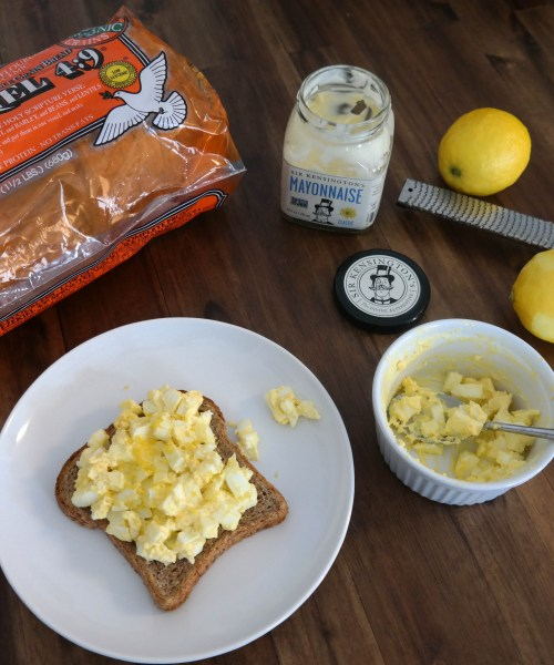 Zesty Egg Salad