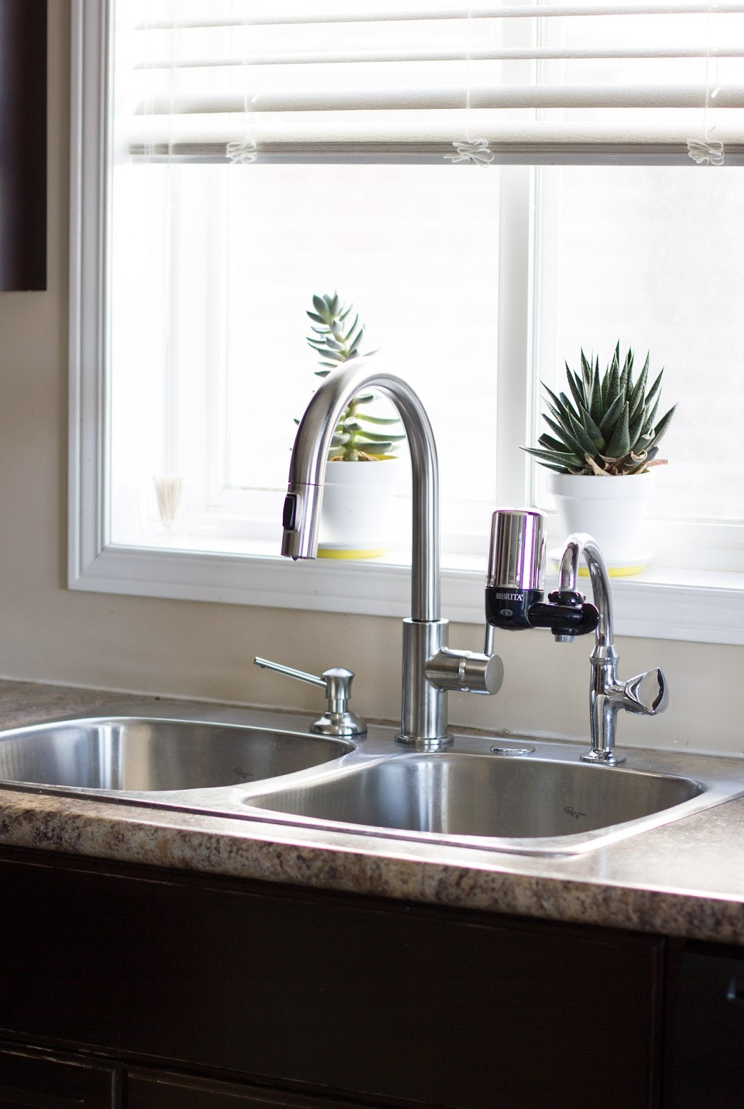a simple faucet update delta trinsic kitchen faucet Installing a Delta Trinsic Faucet