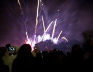 Brockwell Park Fireworks in 2013. Picture by Alistair Hall