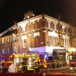 Firefighters deal with incident on Landor Road. Picture by London Fire Brigade
