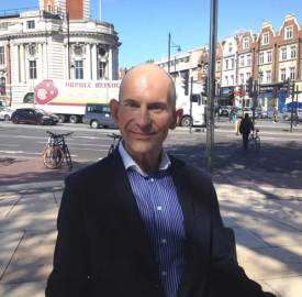 Thomas Lange supporting Terrence Higgins Trust