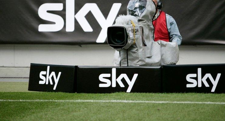Sky Deutschland Camera at Football