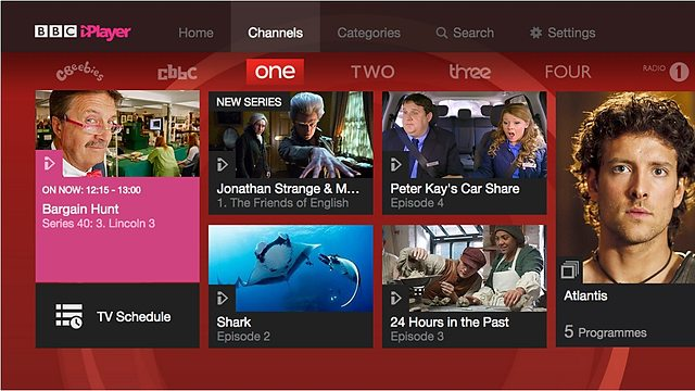 BBC iPlayer Channels