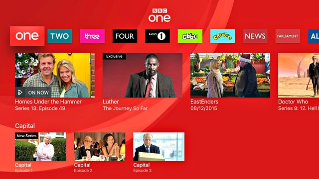 BBC iPlayer on Apple TV