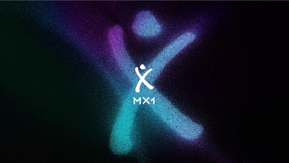MX1 Brand image with logo