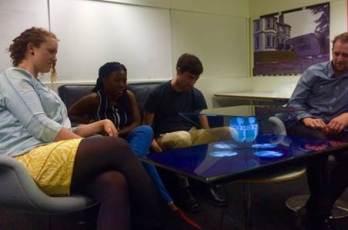 BBC Holographic TV experiment