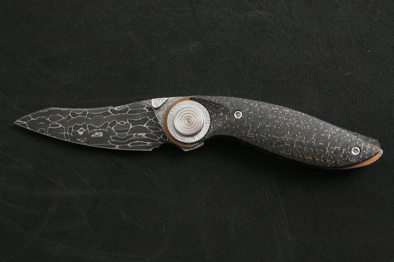 Carbon Damascus